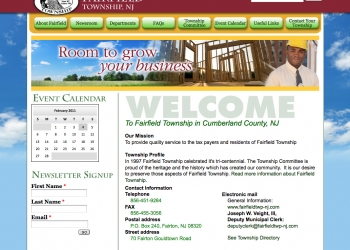Fairfield Township, NJ - Local Government