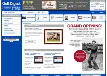 Golf Digest Magazine - Print On Demand Store