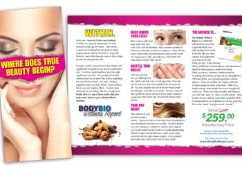 Beauty Salon Wellness Brochure