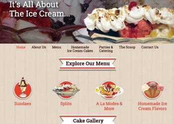 Ice Cream Parlor in Ocean City, New Jersey